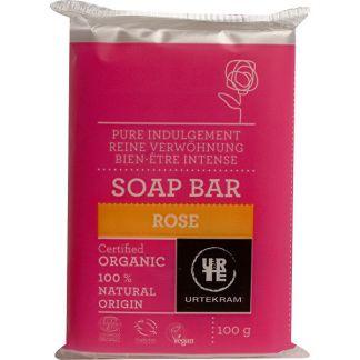 Jabón de Rosa Urtekram - 100 gramos