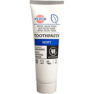 Dentífrico con Flúor y Menta Urtekram - 116 ml.