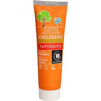 Dentífrico para Niños Tutti Frutti Urtekram - 75 ml.