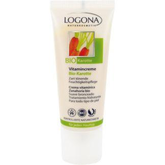 Crema Vitamínica Zanahoria Bio Logona - 40 ml.