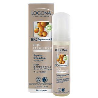 Espuma Limpiadora Age Protection Logona - 70 ml.