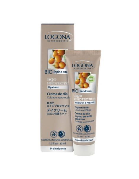 Crema de Día Age Protection Logona - 30 ml.