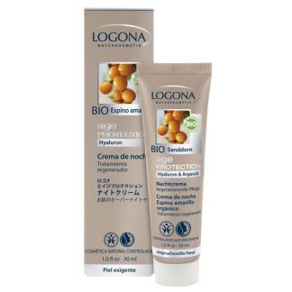 Crema de Noche Age Protection Logona - 30 ml.