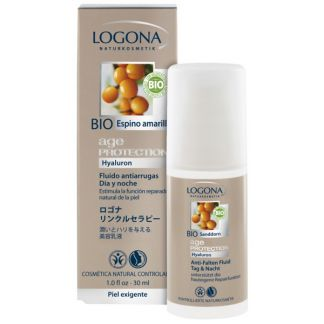 Fluido Antiarrugas Age Protection Logona - 30 ml.