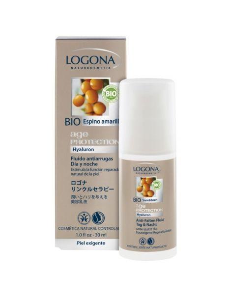 Fluido Antiarrugas Age Protection Logona - 30 ml.