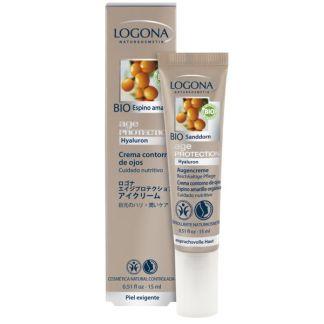 Crema Contorno de Ojos Age Protection Logona - 15 ml.