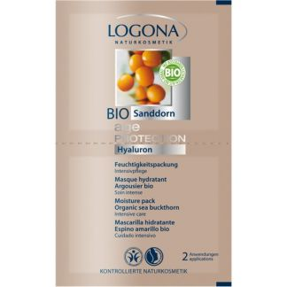 Mascarilla Hidratante Age Protection Logona - 20 x 7.5 ml.