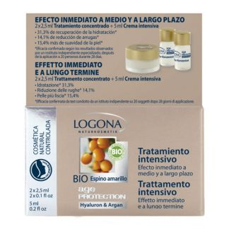 Tratamiento Intensivo Age Protection Logona - 2 x 2.5 ml.