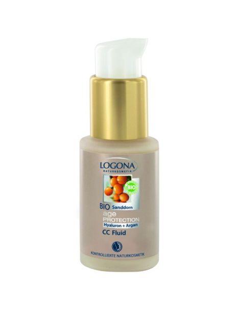 CC Fluido 8 en 1 Age Protection Logona - 30 ml.