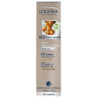 CC Crema Age Protection Beige Medio Logona - 30 ml.