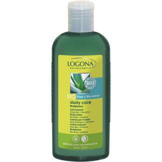 Loción Corporal Aloe Bio & Verbena Daily Care Logona - 200 ml.
