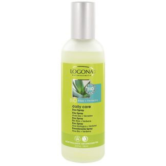 Desodorante en Spray Aloe Bio & Verbena Daily Care Logona - 100 ml.
