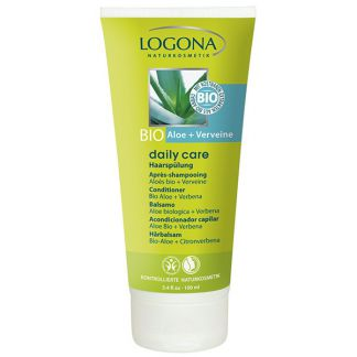Acondicionador Capilar Aloe Bio & Verbena Daily Care Logona - 100 ml.