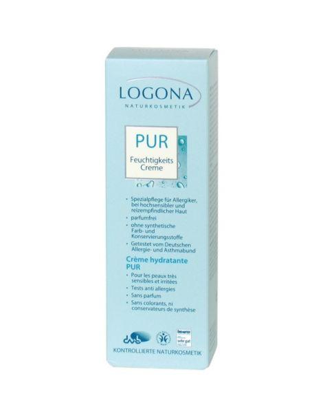 Crema Hidratante Free Logona - 50 ml.