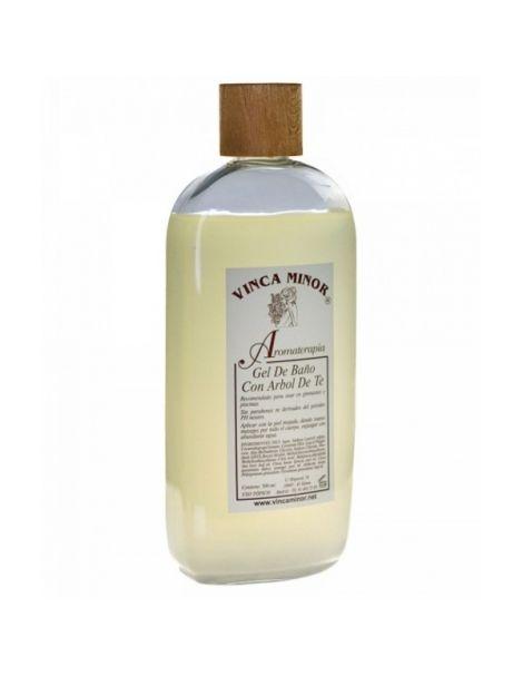 Gel de Baño con Árbol del Té Vinca Minor - 500 ml.