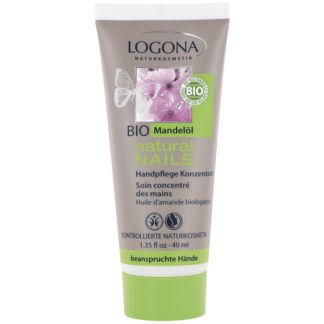 Crema de Manos Concentrada Natural Nails Logona - 40 ml.