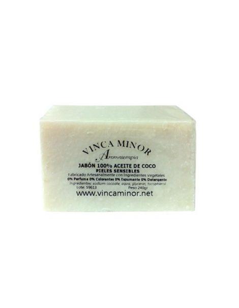 Jabón de Coco Vinca Minor - pastilla de 240 gramos