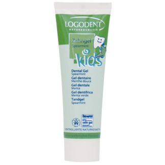 Gel Dental Kids Hierbabuena Logodent Logona - 50 ml.