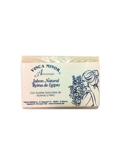 Jabón de la Reina de Egipto Vinca Minor - pastilla de 100 gramos