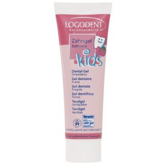 Gel Dental Kids Fresa Logodent Logona - 50 ml.