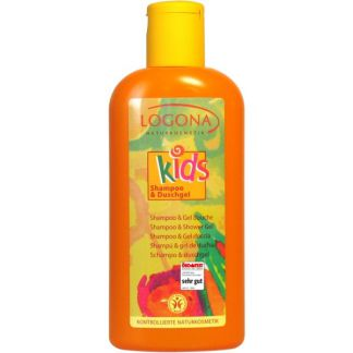 Champú & Gel de Ducha Kids Logona - 200 ml.