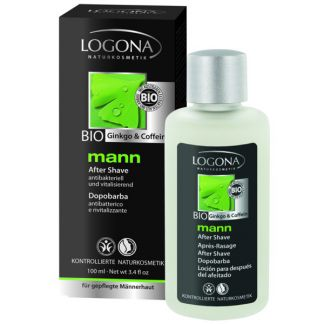 Loción Aftershave Mann Logona - 100 ml.