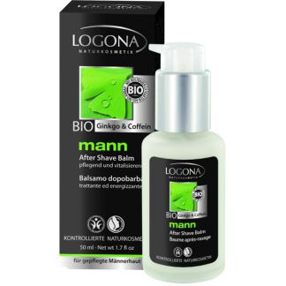Bálsamo Aftershave Mann Logona - 50 ml.