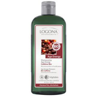 Champú Energy Cafeína Bio Logona - 250 ml.