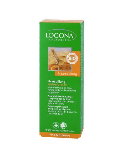 Acondicionador Capilar con Proteínas de Trigo Logona - 200 ml.