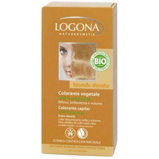 Colorante Vegetal Rubio Dorado Logona - 100 gramos