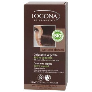 Colorante Vegetal Castaño Dorado Logona - 100 gramos