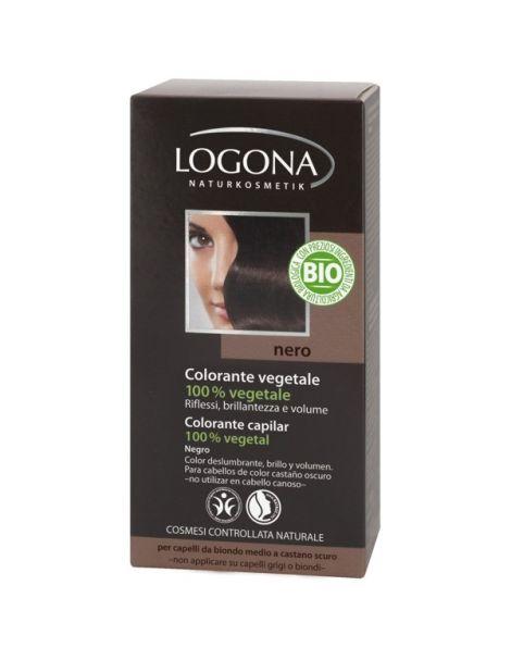 Colorante Vegetal Negro Logona - 100 gramos