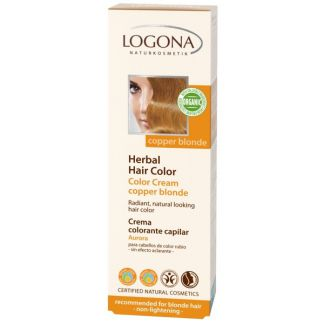 Colorante Vegetal en Crema Aurora Logona - 150 ml.