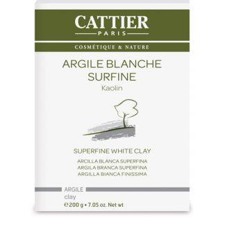 Arcilla Blanca Superfina Cattier - 200 gramos