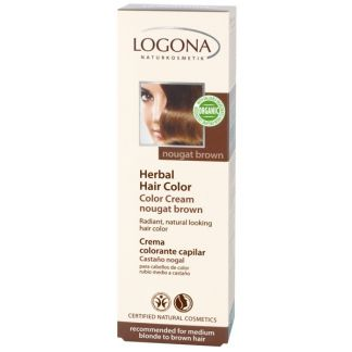Colorante Vegetal en Crema Nogal Logona - 150 ml.
