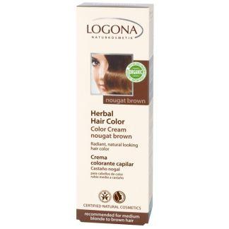 Colorante Vegetal en Crema Nogal Logona - 150 ml.