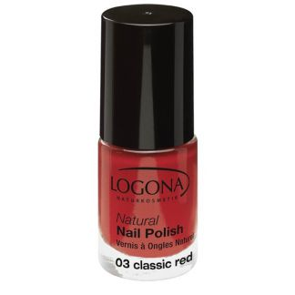 Esmalte de Uñas Natural Classic Red 03 Logona - 4 ml.