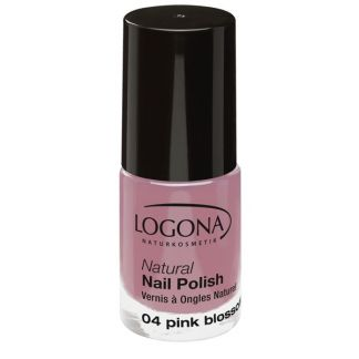 Esmalte de Uñas Natural Pink Blossom 04 Logona - 4 ml.
