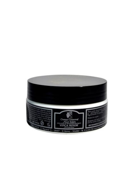 Crema Corporal Noor Saten Vinca Minor - 250 ml.