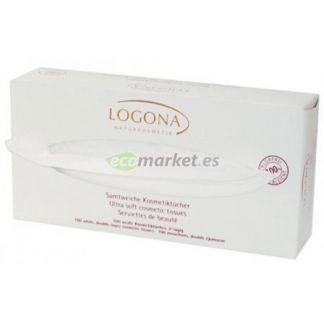 Pañuelos de Papel Secos Logona- 100 unidades