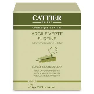 Arcilla Verde Superfina Cattier - 1000 gramos