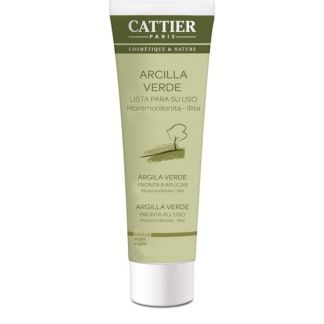 Arcilla Verde Lista para Usar Cattier - 100 gramos