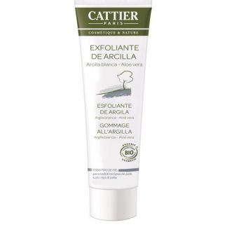 Exfoliante Facial de Arcilla Cattier - 100 ml.
