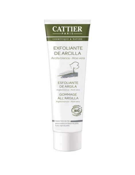 Exfoliante Facial de Arcilla Cattier - 100 ml.