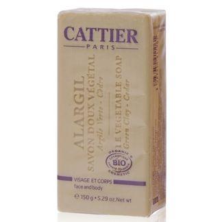 Jabón Vegetal Alargil Pieles Grasas Cattier - 150 gramos