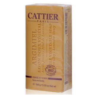 Jabón Vegetal Argimiel Pieles Normales y Mixtas Cattier - 150 gramos