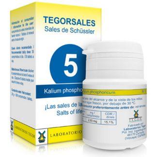 Sales de Shüssler (Kalium Phosphoricum) Tegorsal 5 - 350 comprimidos