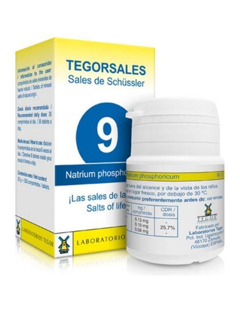 Sales de Shüssler (Natrium Phosphoricum) Tegorsal 9 - 350 comprimidos
