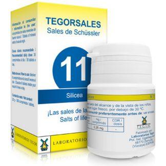 Sales de Shüssler (Silícea) Tegorsal 11 - 350 comprimidos