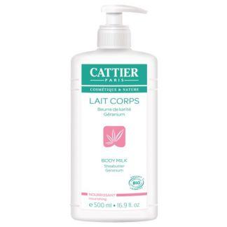 Leche Hidratante Corporal Nutritiva Cattier - 500 ml.